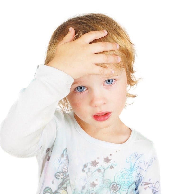 Bolesť hlavy u dieťaťa
