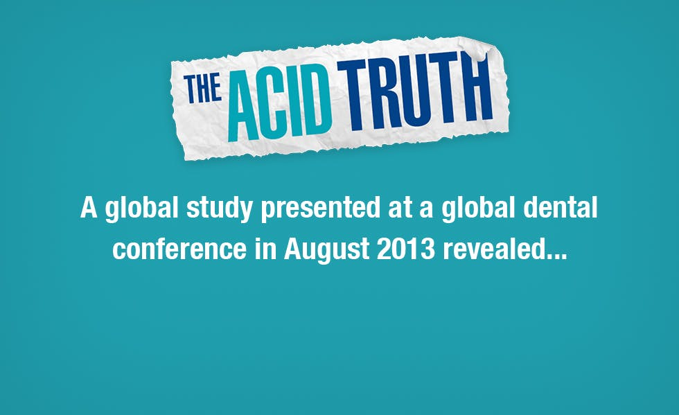 A ground-breaking new European study presented at a global dental conference in August 2013 revealed