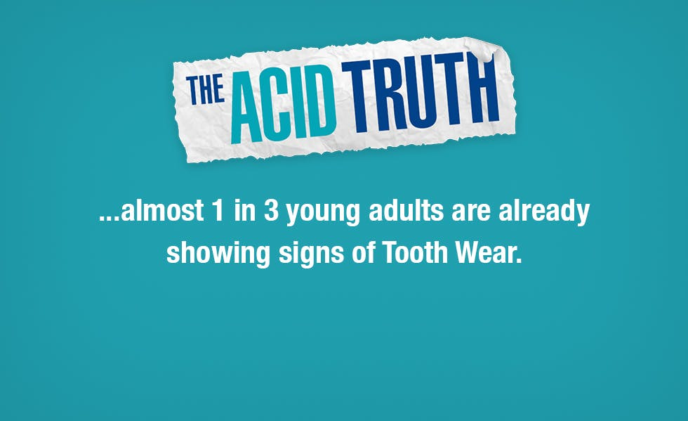 almost 1 in 3 young adults are already showing signs of Tooth Wear